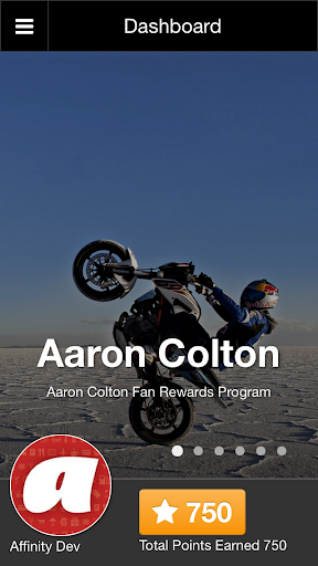 Fan Rewards - Aaron Colton