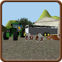 Farm Cattle Transporter 3D icon