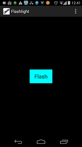 Flashlight on your phone