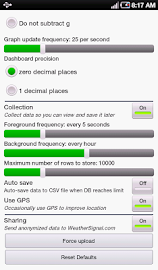 Mobile Weather Station Screenshot 3