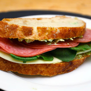 Artichoke and Salami Sandwiches