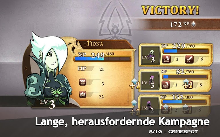 android M&M Clash of Heroes Screenshot 3