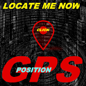 LOCATE ME NOW GPS icon