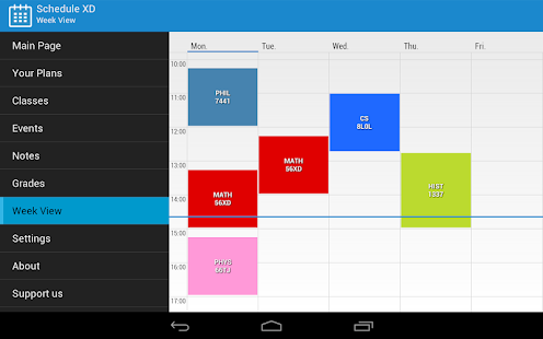 Schedule XD- screenshot thumbnail