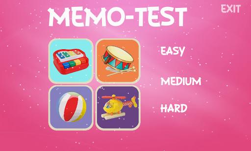 TOYS DOC - MEMO TEST