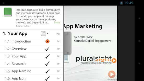 Pluralsight - screenshot thumbnail