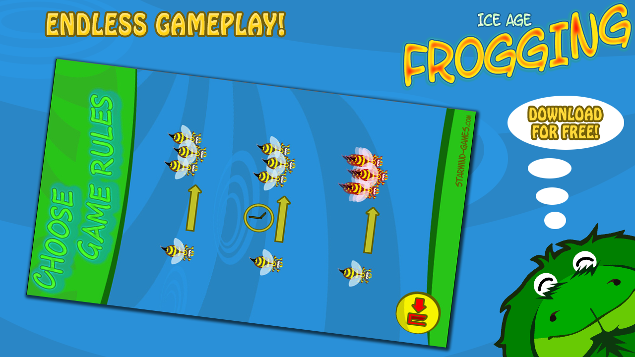 Ice Age Frogging Free- screenshot