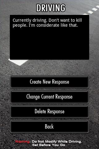 SMART -- SMS Responder- screenshot