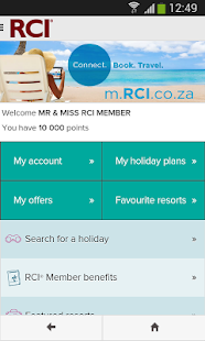 RCI - South Africa- screenshot thumbnail
