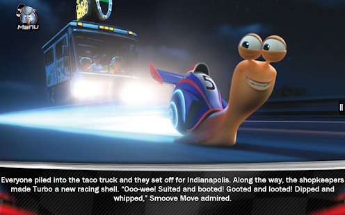 Turbo Movie Storybook- screenshot thumbnail