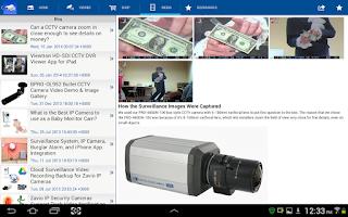 Screenshot of iCamViewer IP Camera Viewer
