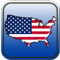 Map of USA icon