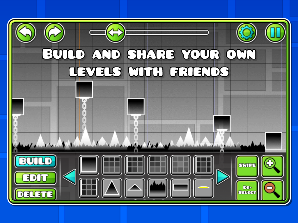 Geometry Dash Mod Apk (Unlimited Money/Diamonds) Unlocked All 7