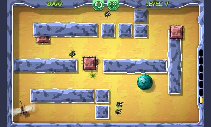Beetle Roll - screenshot