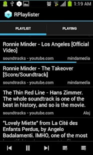 RPlaylister - Music via Reddit - screenshot thumbnail