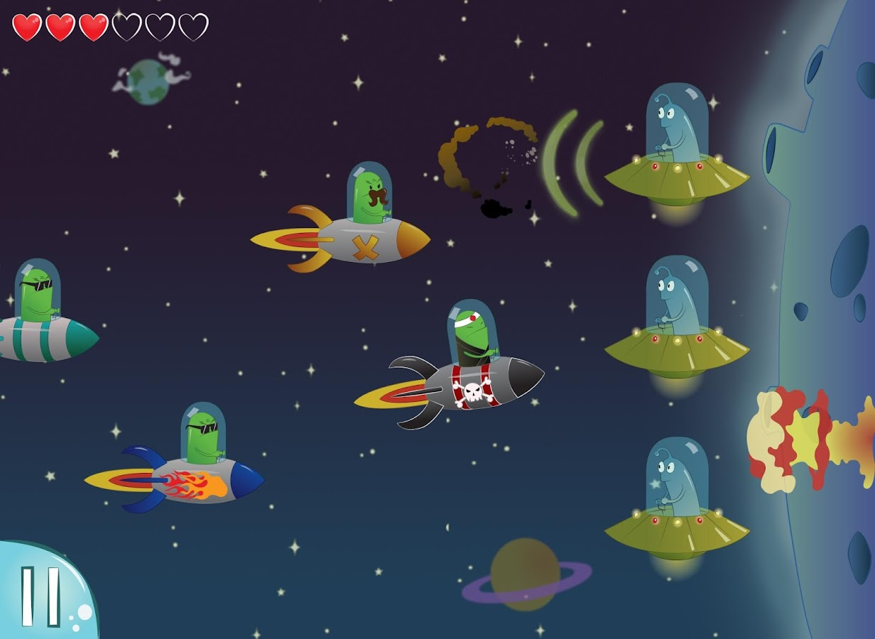 ALIEN KAMIKAZE Tap Tap Defense- screenshot