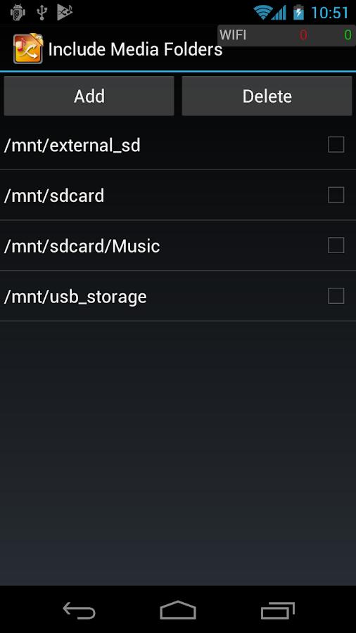 Queek Music Shuffler HD- screenshot