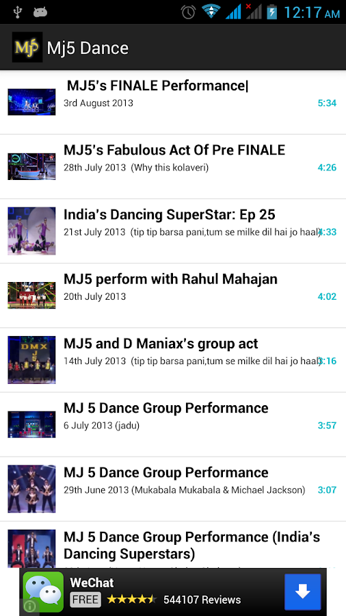 Mj5 Dance Group Videos - screenshot