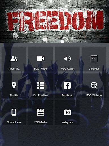 Freedom Gate Church Tablet