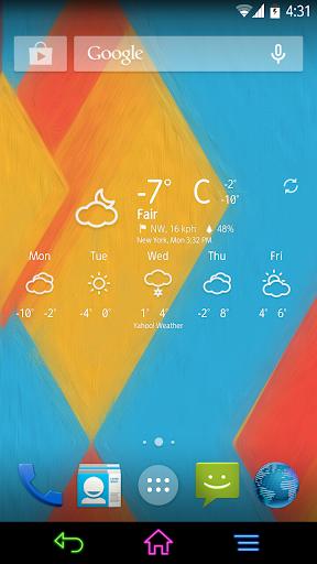 Chronus: Fresh Weather Icons 2