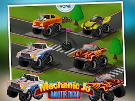 Screenshot of Mechanic Jo - Monster Truck