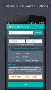Fake Text Message- screenshot thumbnail