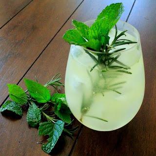 Rosemary, Mint, & Pineapple Fresca