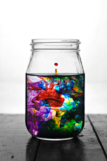 Food Coloring | Glass | Artistic Objects | Pixoto