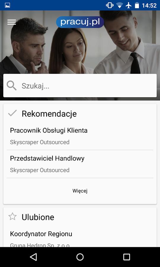 Pracuj.pl - Oferty pracy - screenshot