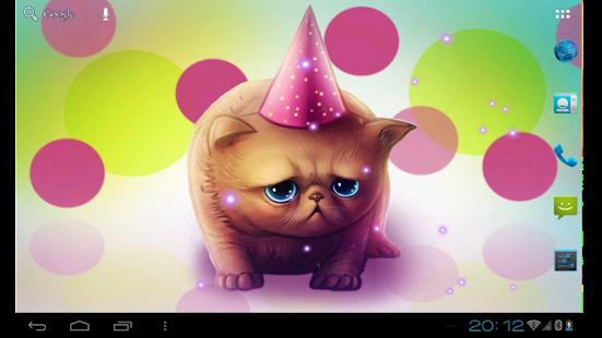 Birthday Kitty Live wallpaper - screenshot thumbnail
