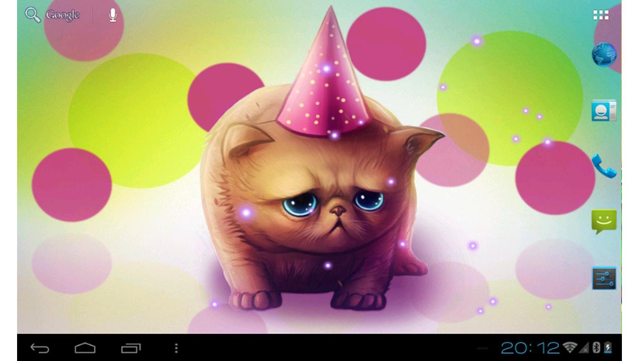 Birthday Kitty Live wallpaper - screenshot