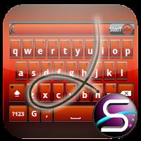 SlideIT Orange Metal Skin 4.0
