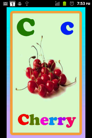 Kids EZ Fruits ABC Lite - screenshot