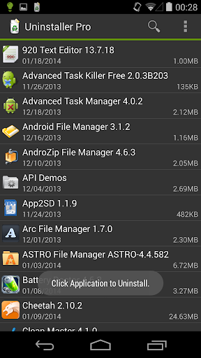 Screenshot for Uninstaller Pro in United States Play Store