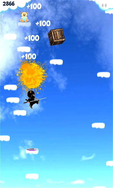 Baby Ninja Jump- screenshot