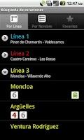 Screenshot of Metro de Madrid