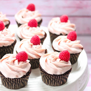 Chocolate cupcakes with white chocolate frosting- Gluten free.