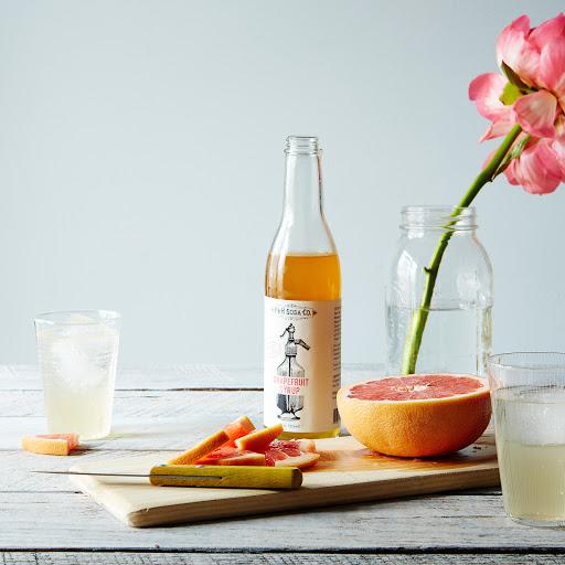 Hibiscus & Grapefruit Soda Syrups