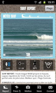 Lacanau Surf Info- screenshot thumbnail