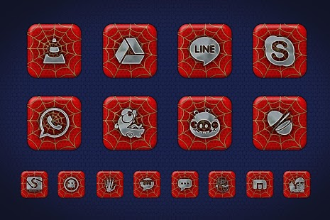 Spidey 1300+ Icon Pack Theme