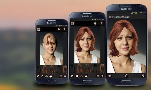 Enjoyable Face Hair Changer Men Women Android Apps On Google Play Short Hairstyles For Black Women Fulllsitofus
