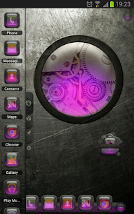 TSF Shell Theme EventGlassV HD - screenshot thumbnail