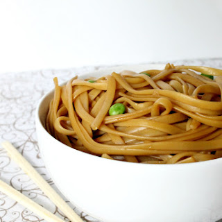 Simple Asian Sesame Noodles