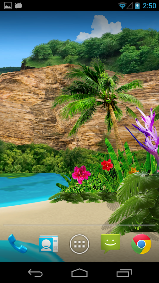 3D Oasis Live Wallpaper - screenshot