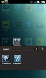 MIUI X2 Go/Apex/ADW Theme FREE Screenshot 4