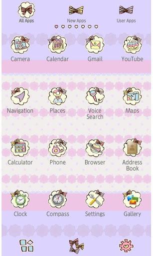 Cute Theme-Ribbon Girls- 1.0 Windows u7528 3