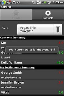 Group Expenses- screenshot thumbnail
