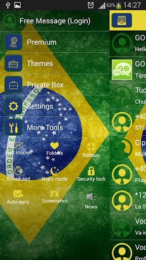 GO SMS Proのブラジル