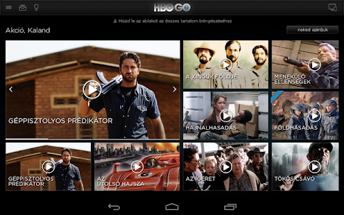 HBO GO Hungary - screenshot thumbnail
