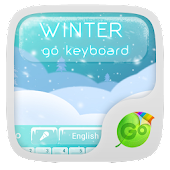 Winter GO Keyboard Theme